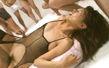 Asian babe Akira Shiratori has both tight holes filled with toys