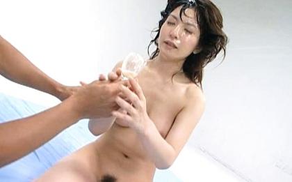Ann Nanba Hot Japanese babe in hardcore bukkake