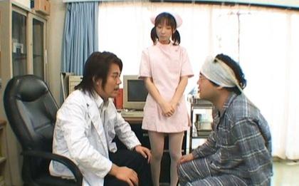 Sexy nurse Mari Fujisawa receives an unforgetable bukkake