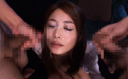 Sarasa Hara is hungry for cock sucking so she gets two at the same time.