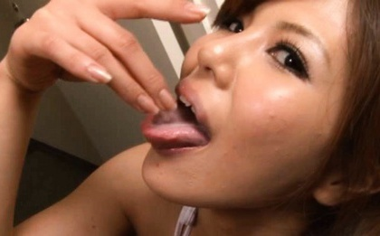 Stunner Pine Shizuku gets soaked in cum