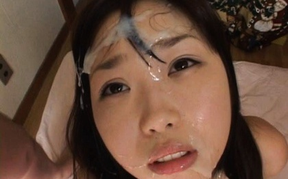 Arika takarano asian chick is fucked hard in a gangbang then 10