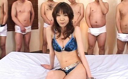 Hot japanese bukkake action 3