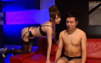 Big Load Of Jizz Gets Milked On Akiho Yoshizawa´s Face