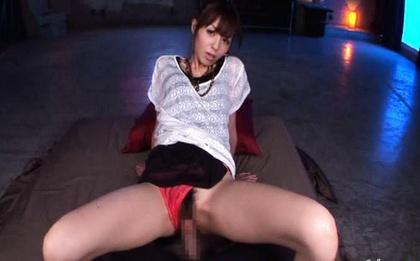 Big facial cumshot on a pretty face Aino Kishi