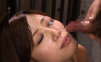 Two Guys Give MILF Makoto Yuuki Hot Sticky Facials