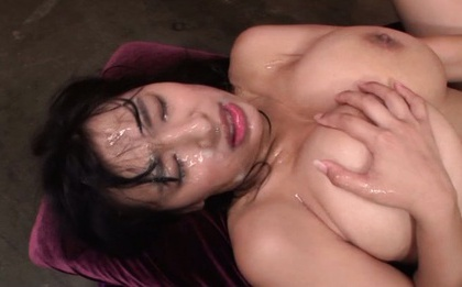 Adorable milf Hana Haruna gets nailed in wild group sex