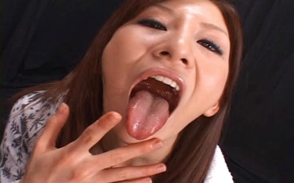 Rino Tomoa Naughty Asian doll enjoys loads of sticky cum