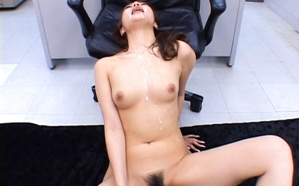 Aya matsuki gets cum on pubic hair from sucked boner after f 9