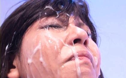 Christel Takizawa Hot Asian chick gets bukkake