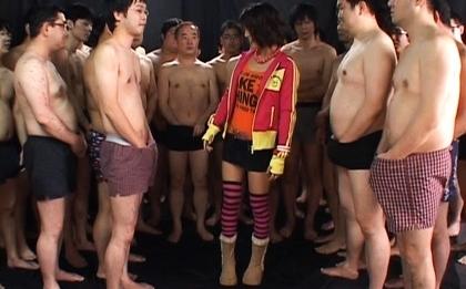 Azumi Harusaki Hot Asian girl gets cum on her face