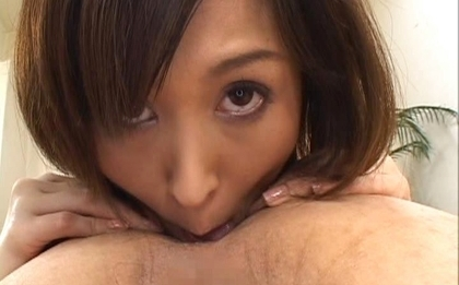 Moe Yoshikawa Asian chick gives hot wet sex
