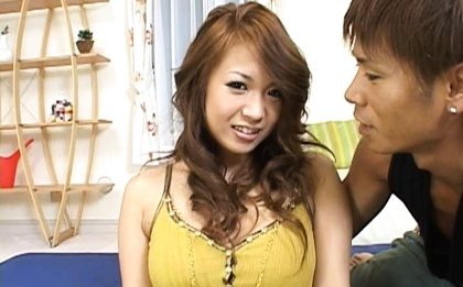 Yuuna Enomoto Busty Asian girl enjoys sex