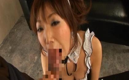 Mint Suzuki Hot Asian doll in uniform has hot sex